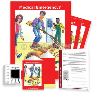 Safety Meeting Kit - Medical Emergency Know What To Do Kits