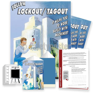 Safety Meeting Kit - Follow Lockout Tagout Kits