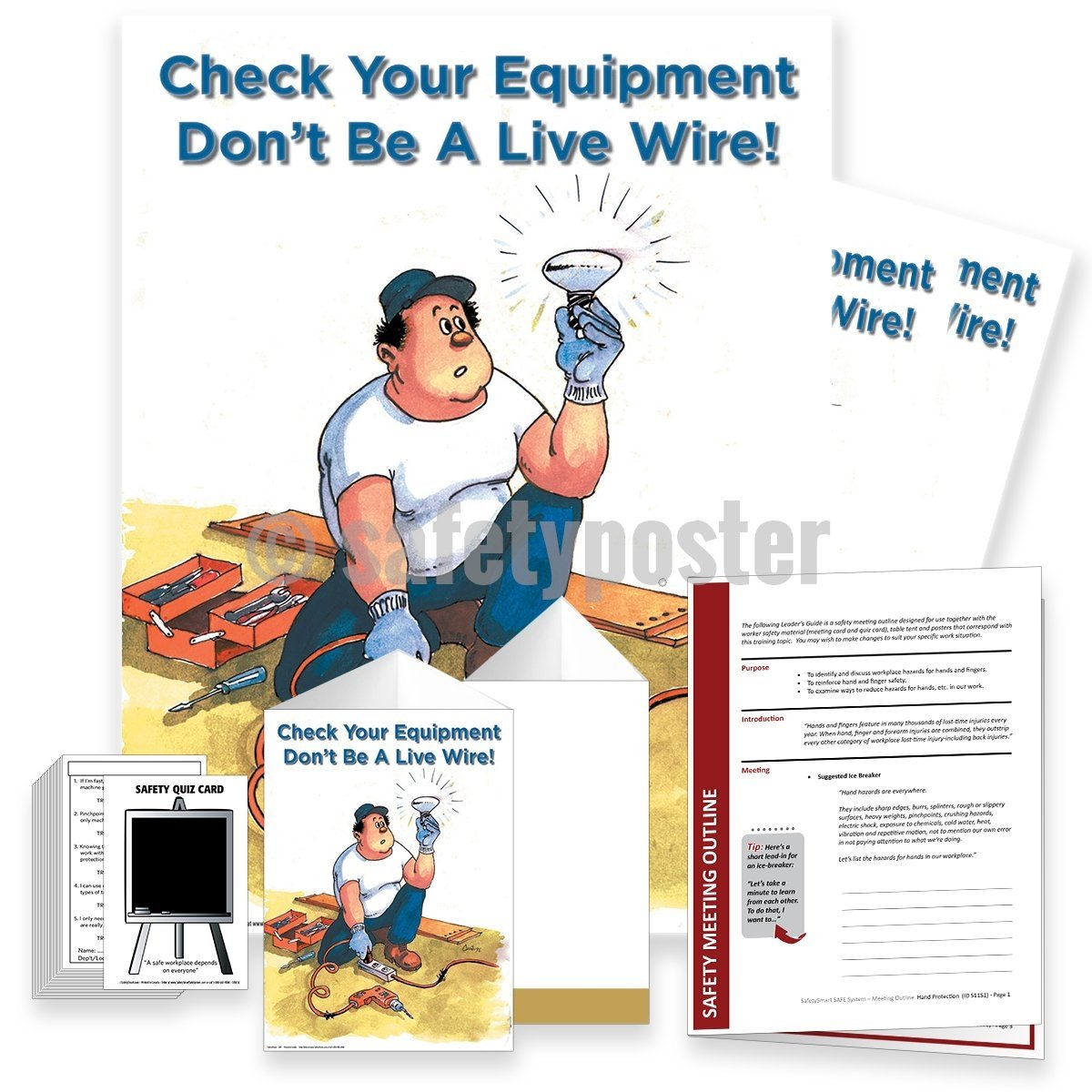 Safety Meeting Kit - Dont Be A Live Wire Kits
