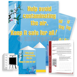 Safety Meeting Kit - Help Avoid Contaminating The Air Kits
