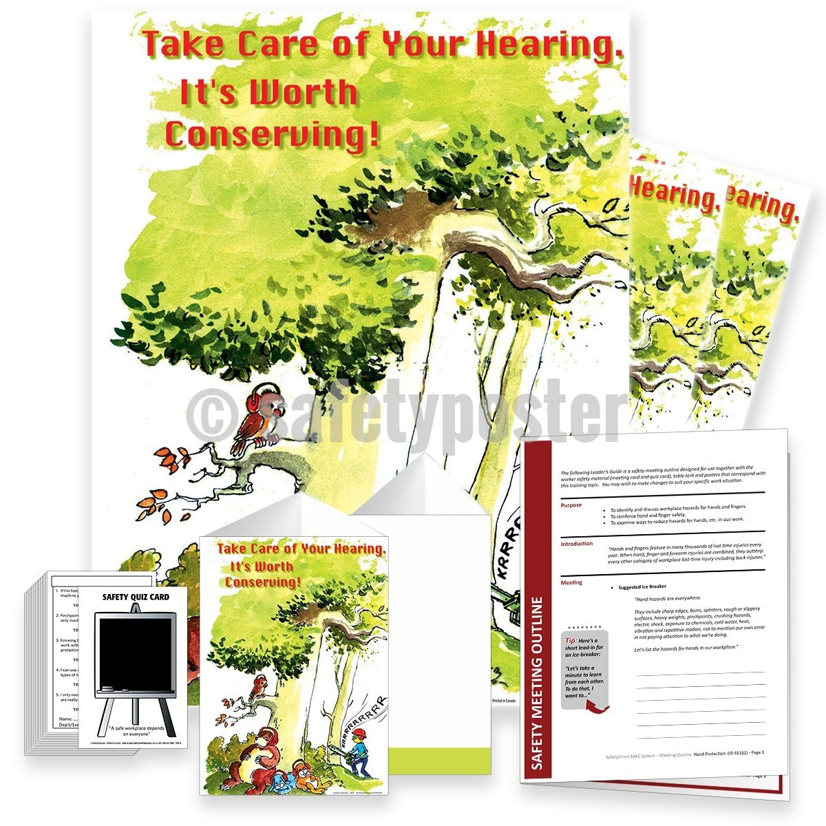 Safety Meeting Kit - Take Care Of Your Hearing Kits