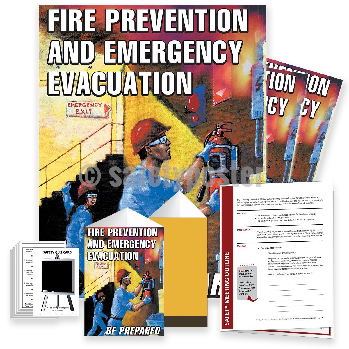 Safety Meeting Kit - Fire Prevention And Emergency Evacuation Kits