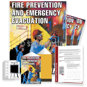 Safety Meeting Kit - Fire Prevention And Emergency Evacuation