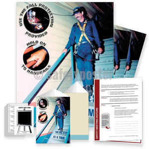 Safety Meeting Kit - Use The Fall Protection Provided Kits