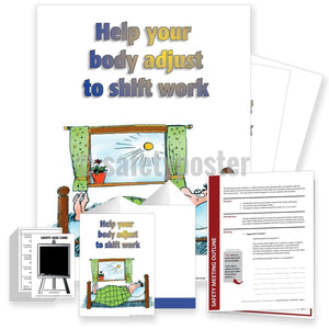 Safety Meeting Kit - Help Your Body Adjust To Shift Work Kits