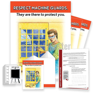 Safety Meeting Kit - Respect Machine Guards Kits