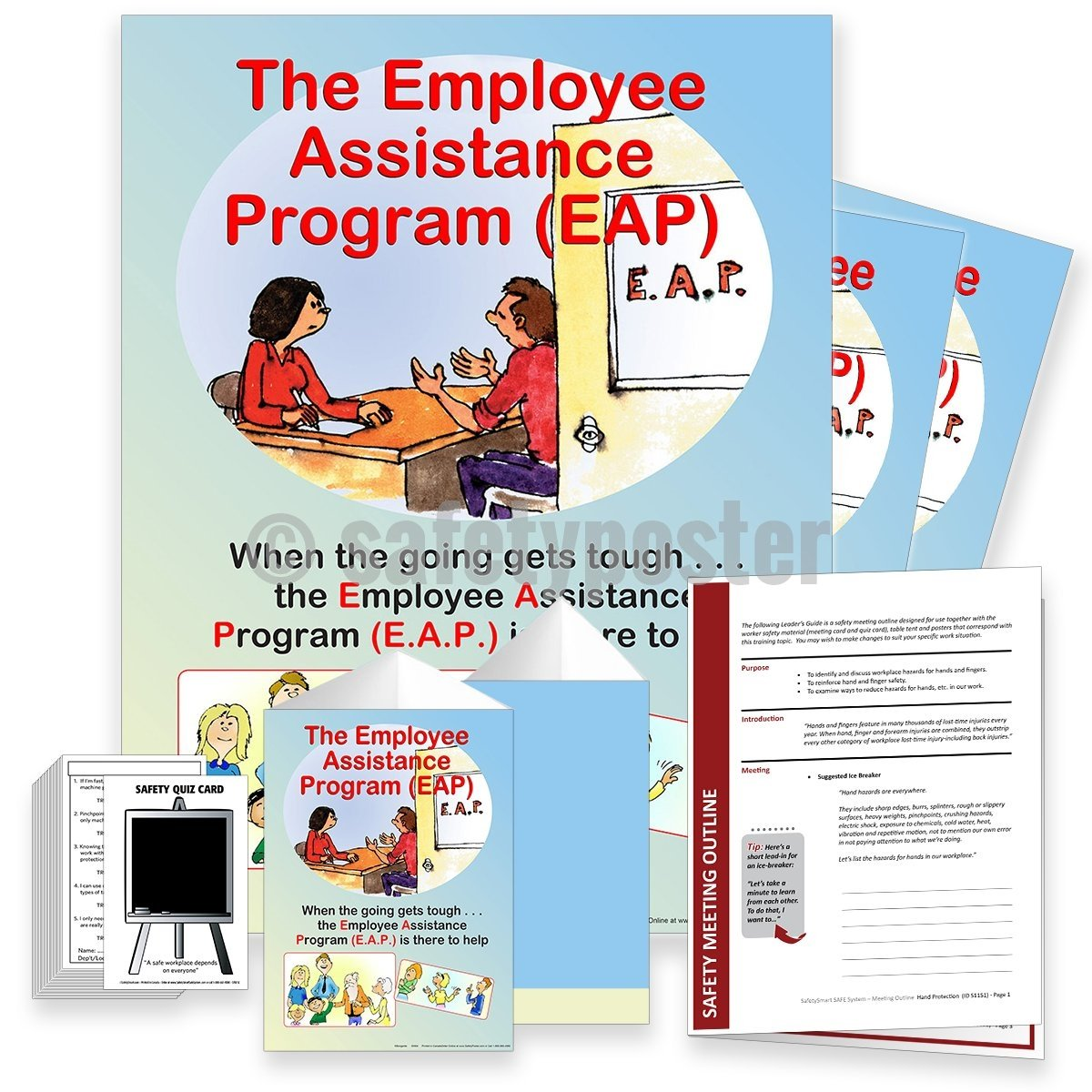 Safety Meeting Kit - Employee Assistance Program Kits