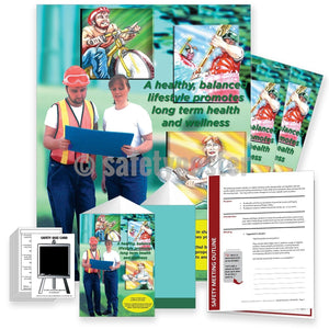 Safety Meeting Kit - Long Term Health And Wellness Kits