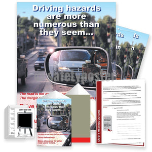 Safety Meeting Kit - Driving Hazards Are Numerous Kits