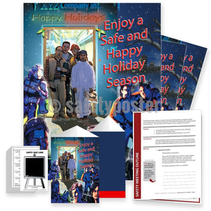 Safety Meeting Kit - Safe And Healthy Holiday Season Kits
