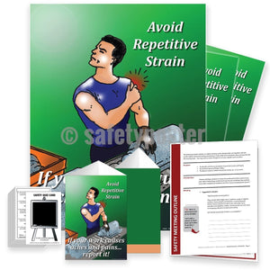 Safety Meeting Kit - Avoid Repetitive Strain Kits