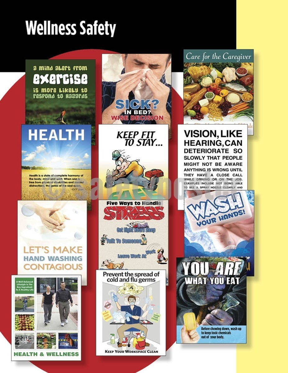 Safety Posters Pack - Wellness Poster Packs