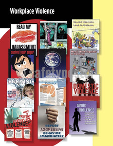 Safety Posters Pack - Workplace Violence Poster Packs
