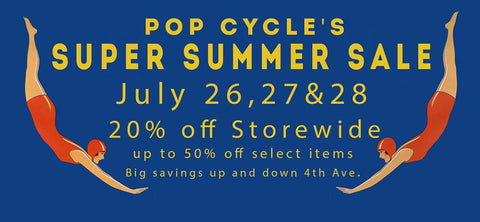 Pop Cycle Super Summer Sale