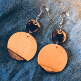 Ceramic Bauhaus Earrings