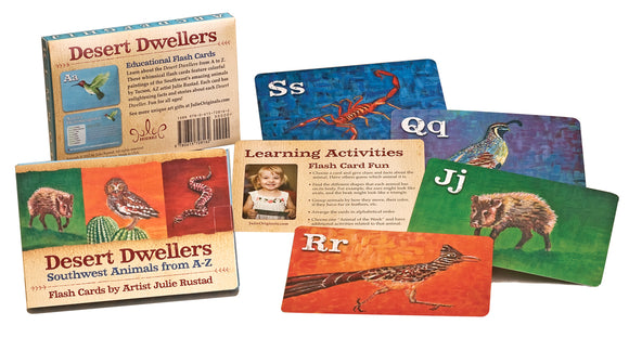Desert Dwellers Flashcards