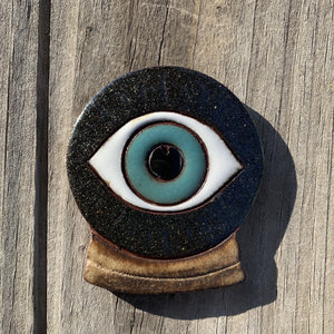 Oracle Eye Ceramic Incense Burner