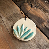 Hand Carved Ceramic Ornaments