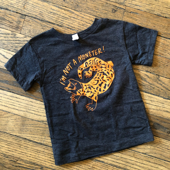 Gila Monster Kid's and Toddler Tee