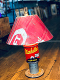 Lamp Made From Reclaimed Salvage