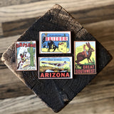 Set of 4 reclaimed magnets by DDco Design
