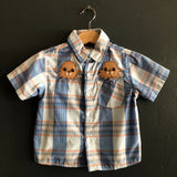 Baby or Toddler Embellished Western Shirts
