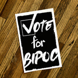 Join the Movement and Vote BIPOC Posters by Red Collar Press