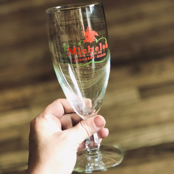 Michelob Stemmed Beer Glass