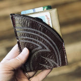 Reclaimed leather card holders/wallets