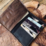 Over-sized Reclaimed Leather Wallet