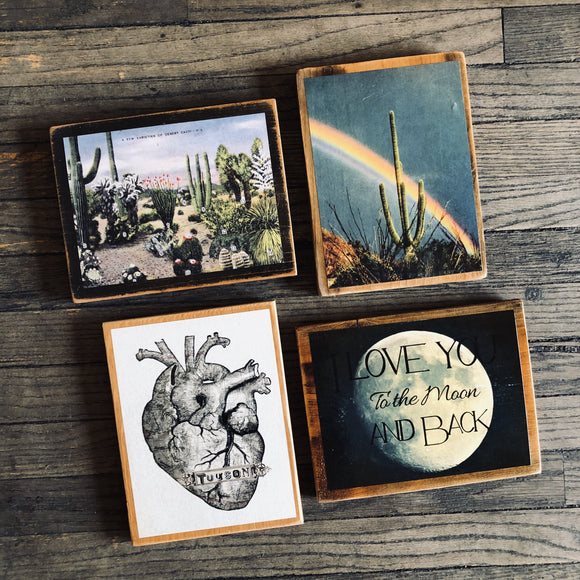 Wooden Plaques (9x12)
