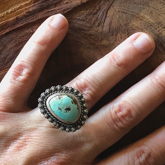 Turquoise Mile High Ring