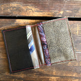 Reclaimed Bifold Wallets