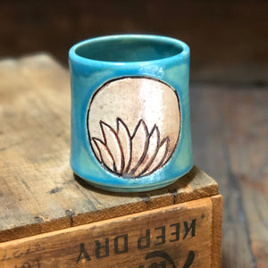 Hand Carved Sipping Cups