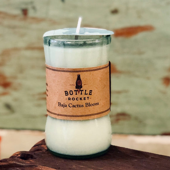 Soy Candle in Recycled Coke Bottle