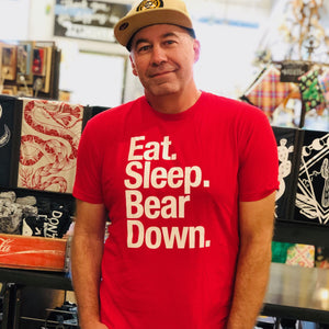 Eat, Sleep, Bear Down Tee