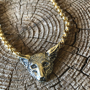 Coyote Chain Necklace