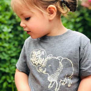 Jave-a Nice Day Kid's and Toddler Tee