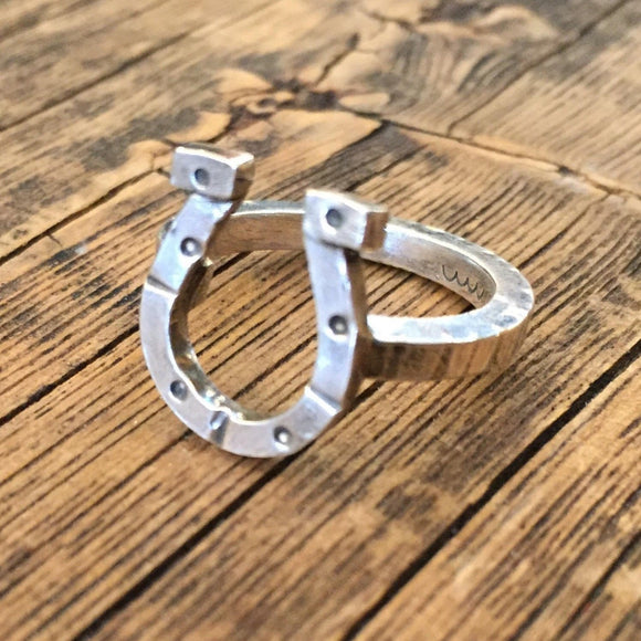 Lucky Horse Shoe Ring