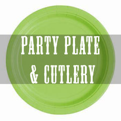 paper plate & cutlery