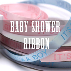 baby shower ribbon