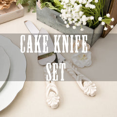 cake knife set