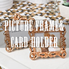 picture frame & card holder