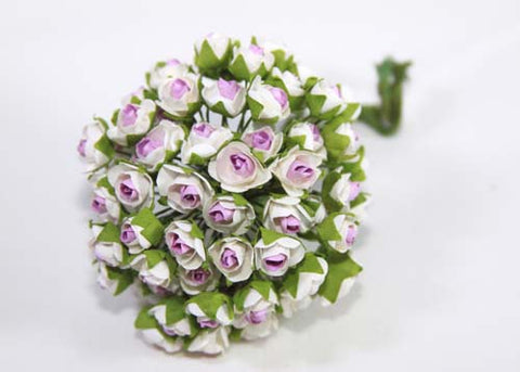 "0.5"" Lavender Mini Paper Flower (144 Flowers)"