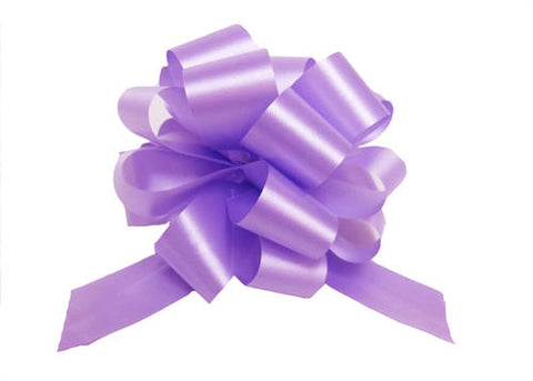 Large Lavender Pull Bow (10 Pieces)