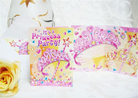 It's a Princess Party Invitation (Set of 8)