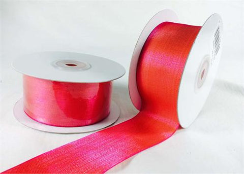 "1-1/2"" Two-Toned Silky Ribbon Coral (25 Yards)"