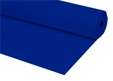 Royal Blue Plastic Table Cover 40 x 100 ft