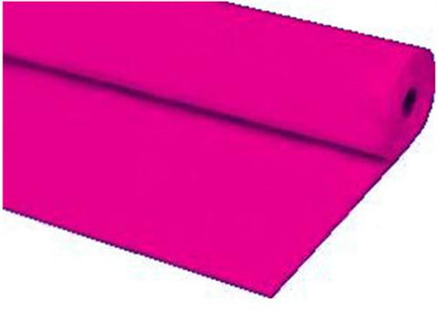 Fuchsia Plastic Table Cover 40 x 100 ft