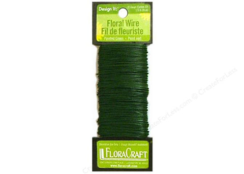 Green Floral Wire (115 FT)